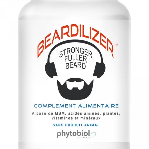 Beardilizer - Lot von 2 Flaschen 90 Kapseln - Nachwachsen von Bart