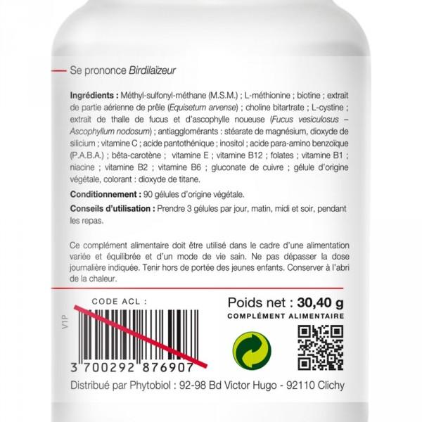 Beardilizer - Lote 2 Botellas de 90 Cápsulas - Crecimiento de barba