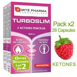 Phorté Pharma - Turboslim - 2 Actions minceurs - Lot 2 boites de 28 Gélules