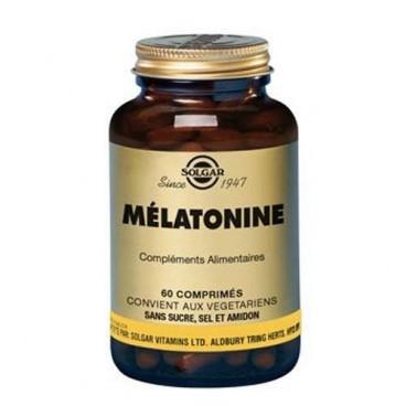 Solgar - Mélatonine 1mg - Troubles du Sommeil - 60 Comprimés
