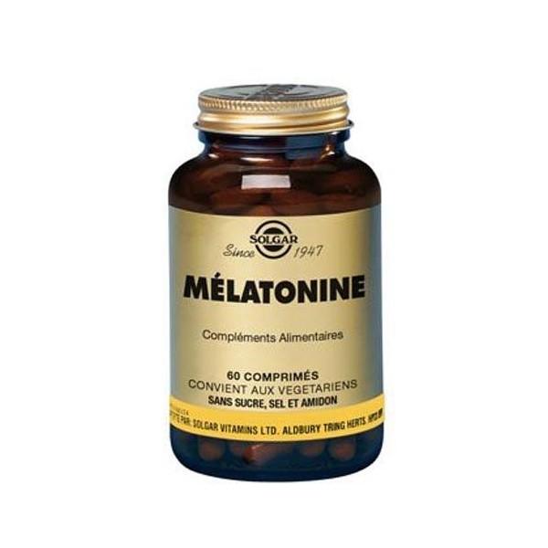 solgar melatonin 1mg hilft beim einschlafen 60 kapseln. Black Bedroom Furniture Sets. Home Design Ideas