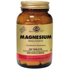 Solgar - Chelated Magnesium - Relaxing and Anti Stress - 100 Tablets