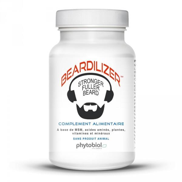 Beardilizer - Lotto di 4 Flaconi da 90 Capsule - Ricrescita di barba