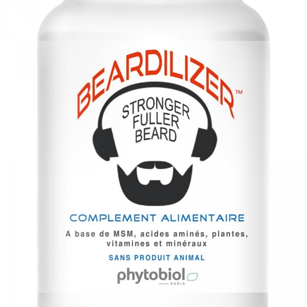 Beardilizer - Set van 4 flessen - Groeicomplex voor gezichtshaar en baard
