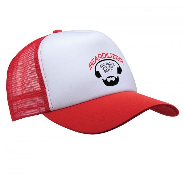 Lippalakki - Beardilizer Trucker - Punainen