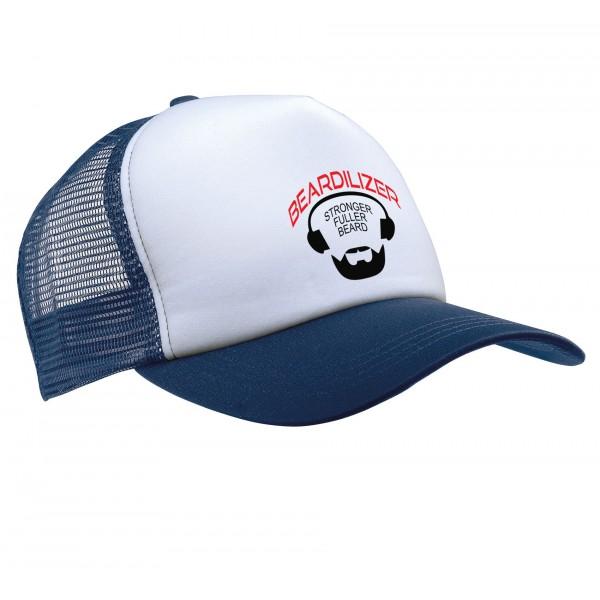Lippalakki - Beardilizer Trucker - Sininen