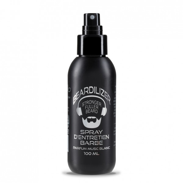 Beardilizer Spray Tópico de Crecimiento de la Barba - Almizcle - 100ml