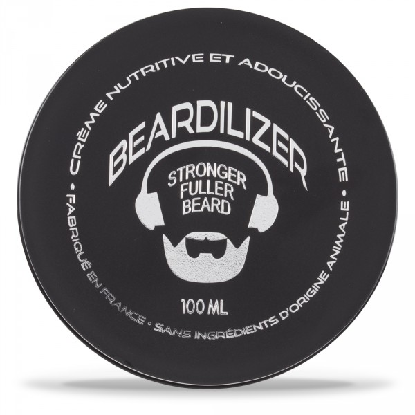 Beardilizer Bart Conditioner und Enthärter Creme - Hypoallergene Formel - 100ml