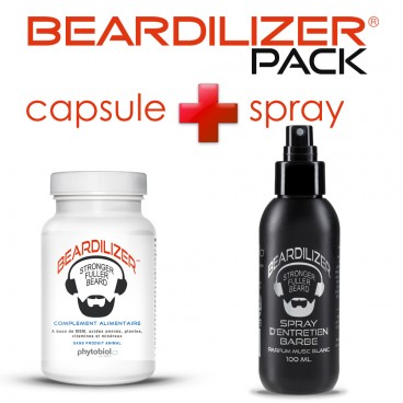 Pack Beardilizer Capsule e Spray