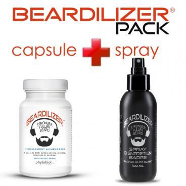 Pack Beardilizer Capsules et Spray