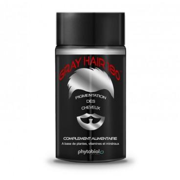 GrayHair 180 - Anti Hvite Hår - 60 Kapsler