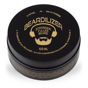 Beardilizer Wax - Helt Naturlig Skægvoks - 100ml