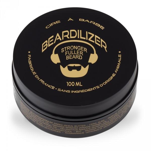 Beardilizer Wax - Cera per la Barba Completamente Naturale - 100ml
