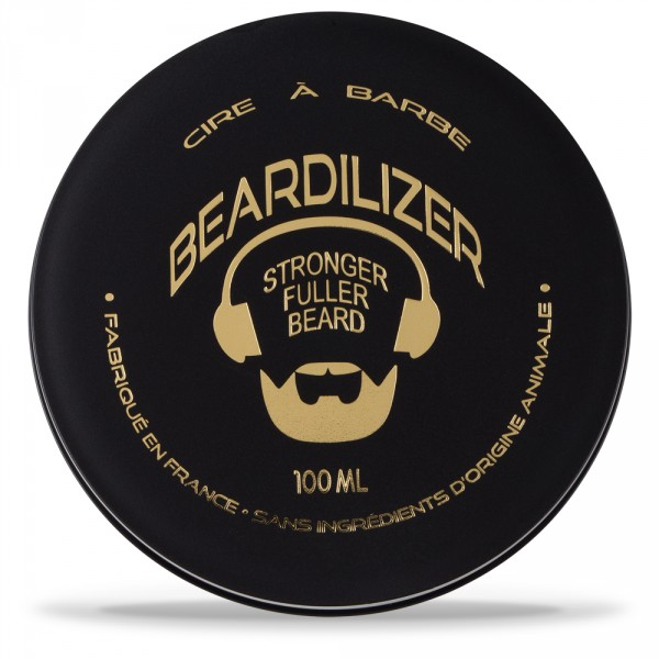 Beardilizer Wax - Cera para la Barba Totalmente Natural - 100ml