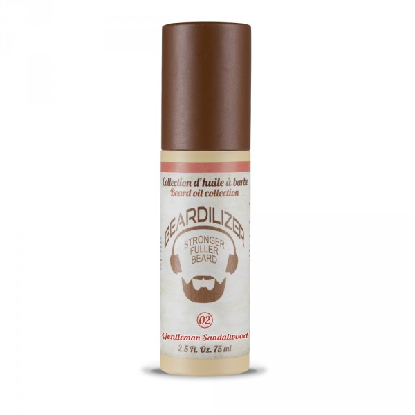 Gentleman Sandalwood - Skjeggoljer Beardilizer - 75 ml