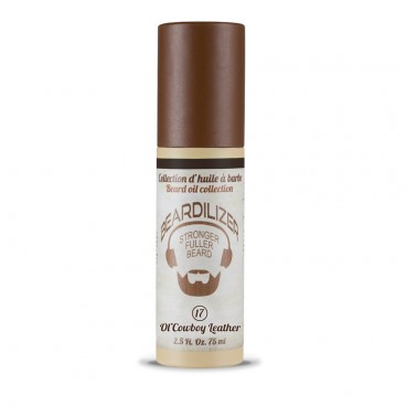 Ol'Cowboy Leather - Huile pour Barbe Beardilizer - 75 ml