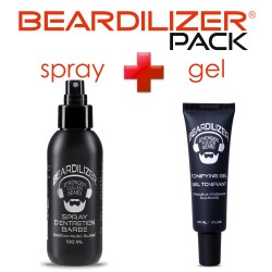 Pack Beardilizer Spray et Gel Tonifiant