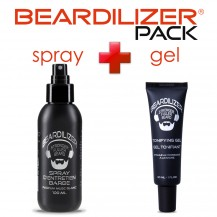 Beardilizer Spray and Tonifying Gel Pack