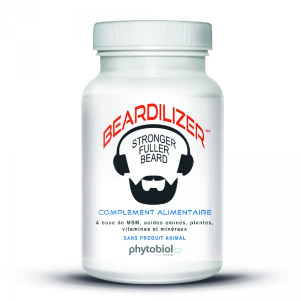 Pack Beardilizer Capsule, Spray e Gel Tonificante