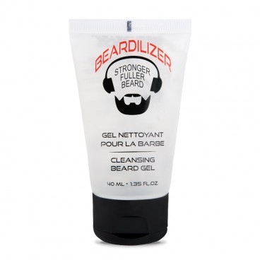 Beardilizer Cleansing Gel til Skæg - 40ml