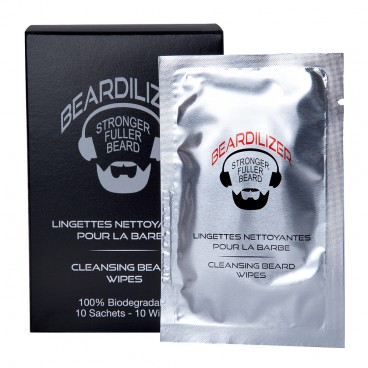 Cleansing Wipes voor Baard Beardilizer