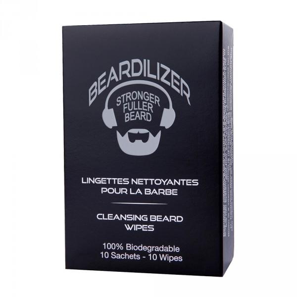 Lingettes Nettoyantes pour Barbe Beardilizer