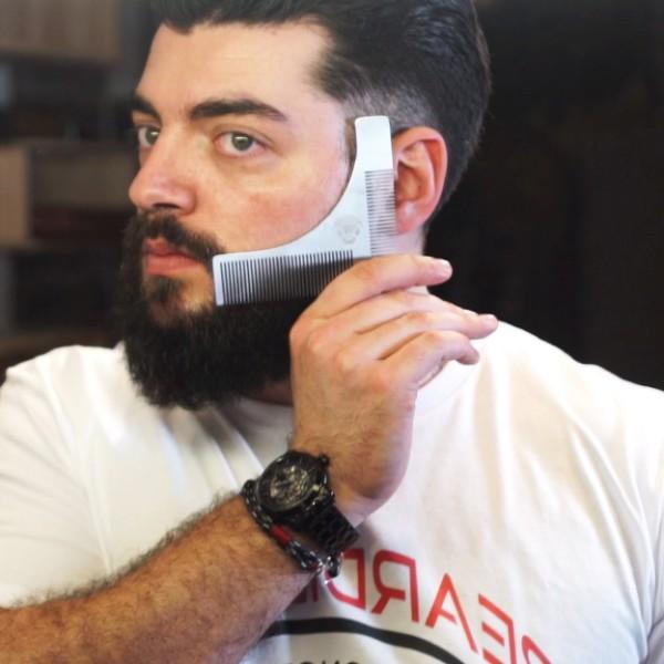 Parranmuotoilukampa Beardilizer