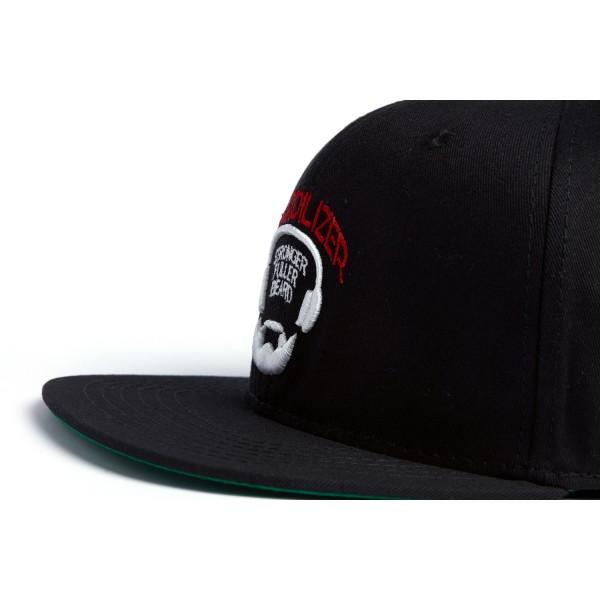 Gorra Snapback Beardilizer - Negro