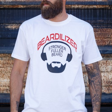 T-Shirt - Beardilizer - weiß