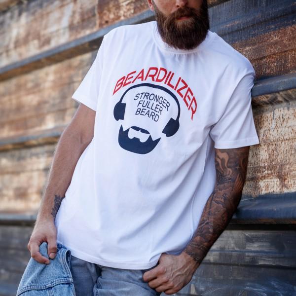 T-Shirt - Beardilizer - Wit