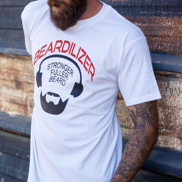 T-Shirt - Beardilizer - weiß