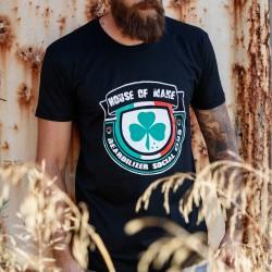 T-Shirt - Beardilizer House Of Mane - Noir