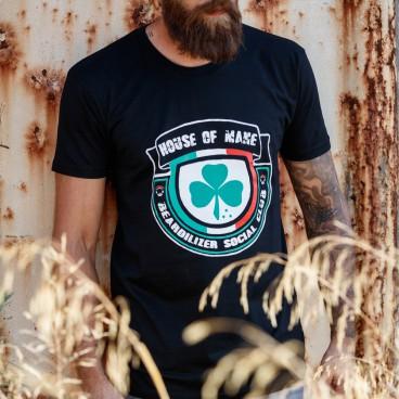 T-shirt - Beardilizer House Of Mane - Nero