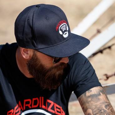Kappe Snapback Beardilizer - Schwarz