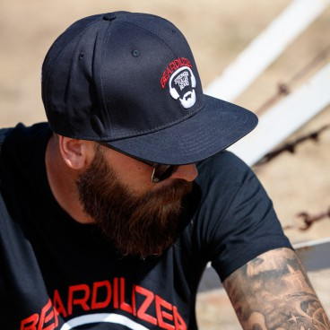Kasket Snapback Beardilizer - Sort