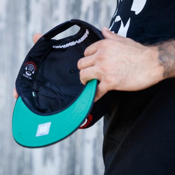 Cap Snapback Beardilizer - Svart