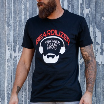 Camiseta - Beardilizer - Negro