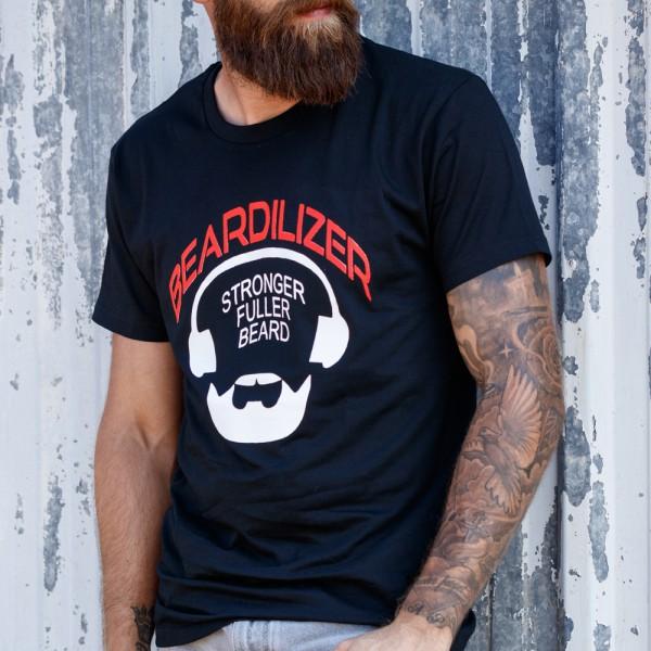 T-Shirt - Beardilizer - Schwarz