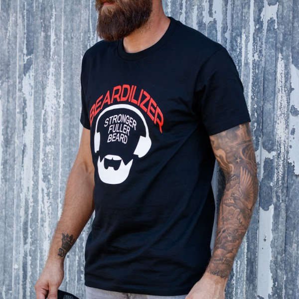 T-Shirt - Beardilizer - Noir