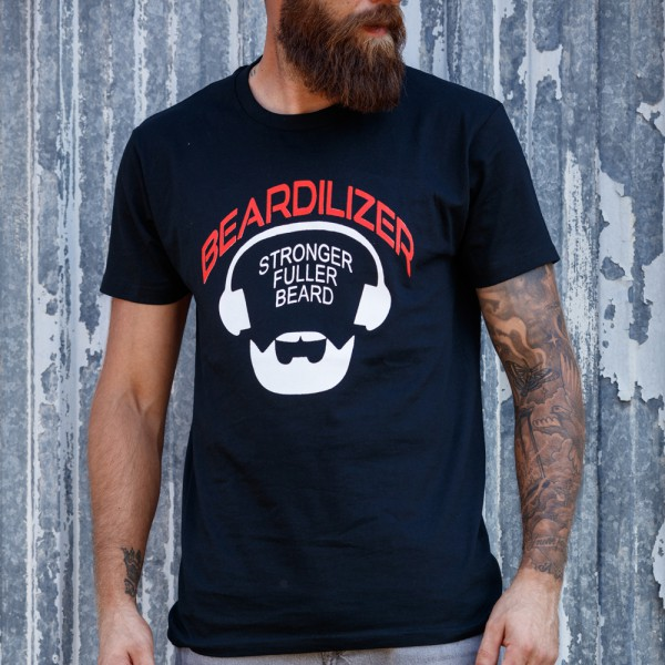 Camiseta - Beardilizer - Negro