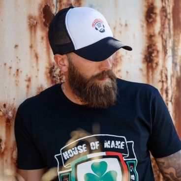 Keps - Beardilizer Trucker - Svart
