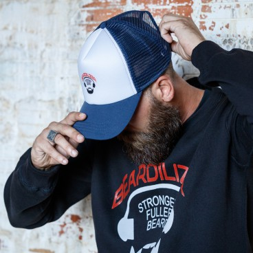 Cap - Beardilizer Trucker - Blå