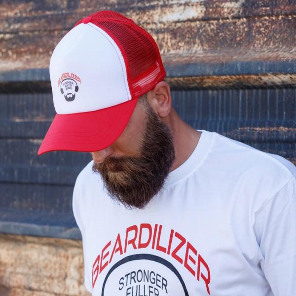 Keps - Beardilizer Trucker - Röd