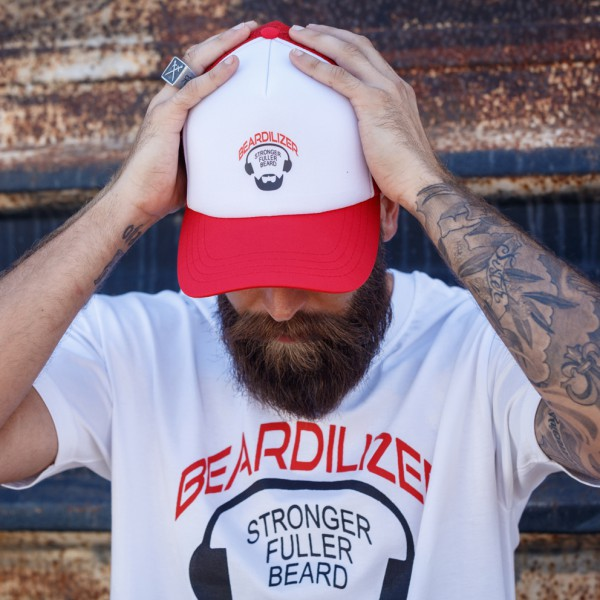 Gorra - Beardilizer Trucker - Rojo