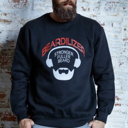 Sweatshirt - Beardilizer - Sort