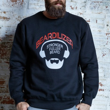 Sweatshirt - Beardilizer - Sort