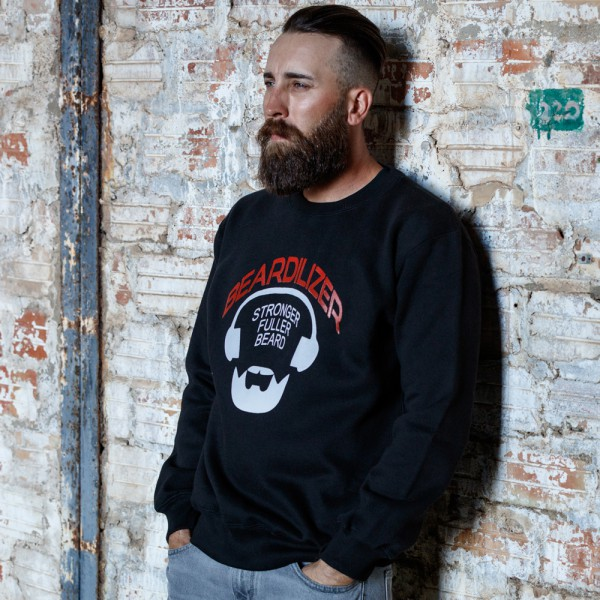 Sweatshirt - Beardilizer - Schwarz