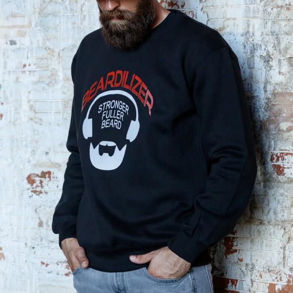 Sweater - Beardilizer - Zwart