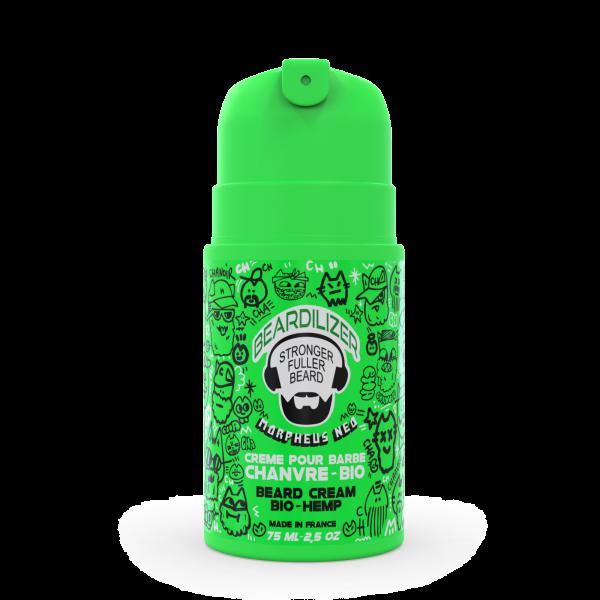 Beardilizer Crème Chanvre Bio Barbe - Régénérante et Nourrissante - 75ml